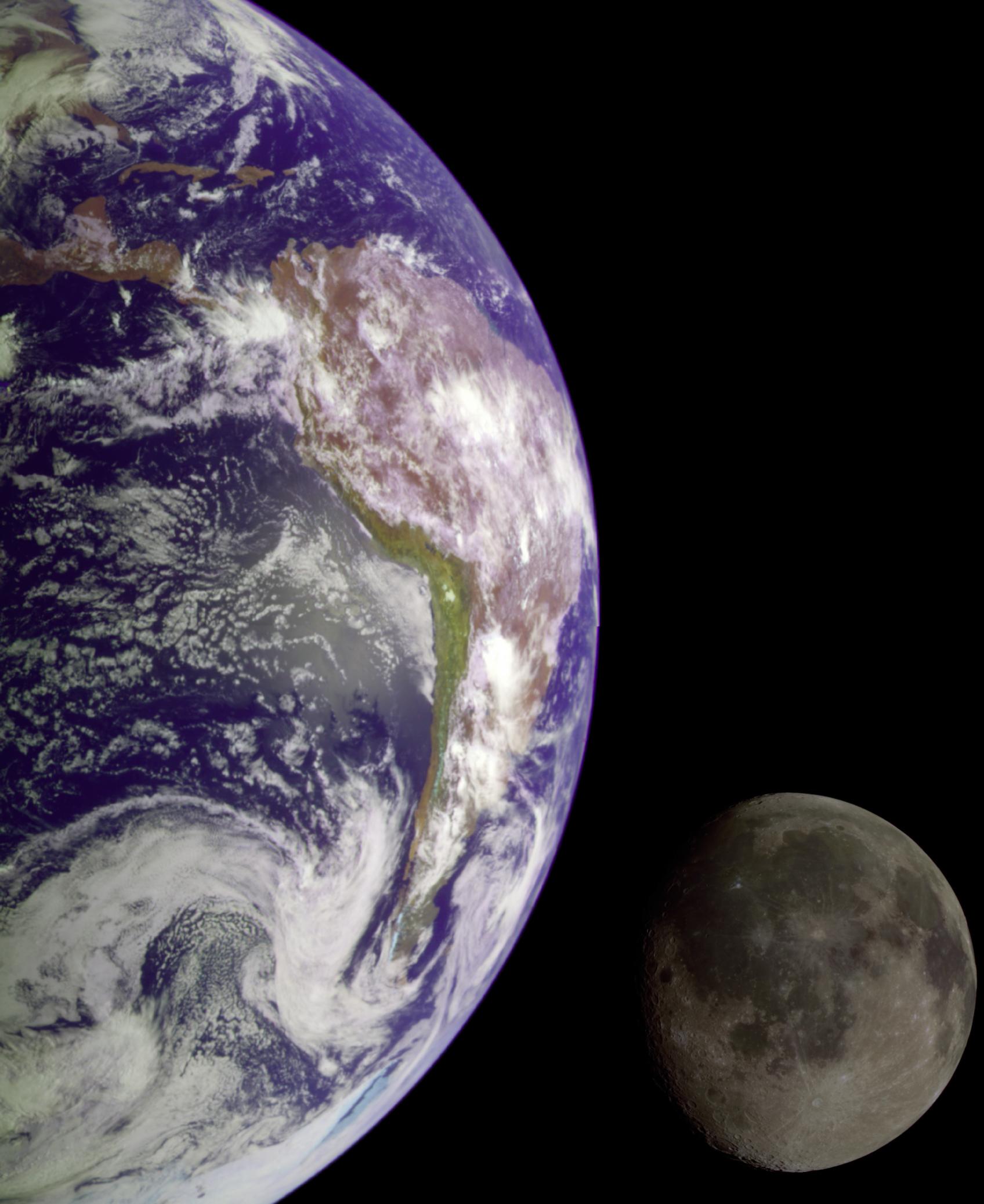 movimientos Tierra Luna